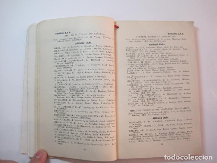 Coleccionismo deportivo: THE LAWN TENNIS ASSOCIATIONS ANNUAL HANDBOOK-LIBRO AÑO 1928-VER FOTOS-(V-22.749) - Foto 24 - 261840630
