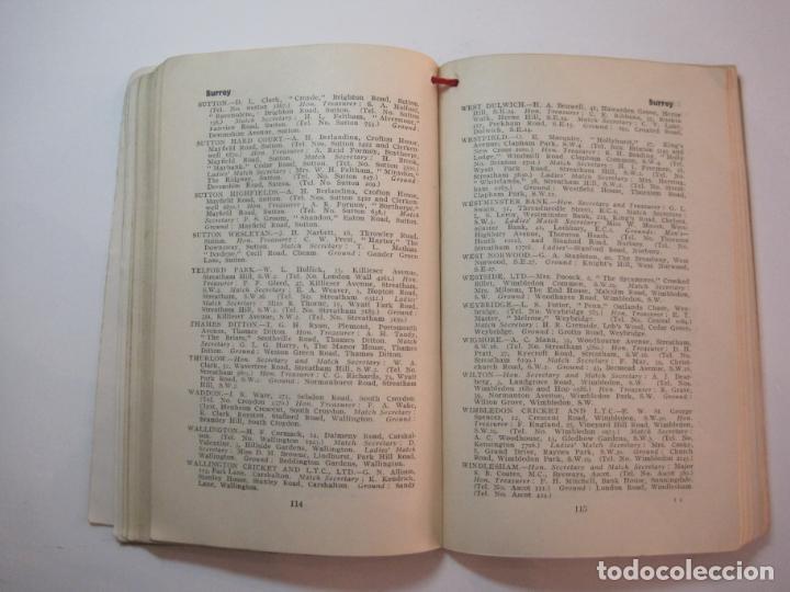 Coleccionismo deportivo: THE LAWN TENNIS ASSOCIATIONS ANNUAL HANDBOOK-LIBRO AÑO 1928-VER FOTOS-(V-22.749) - Foto 26 - 261840630