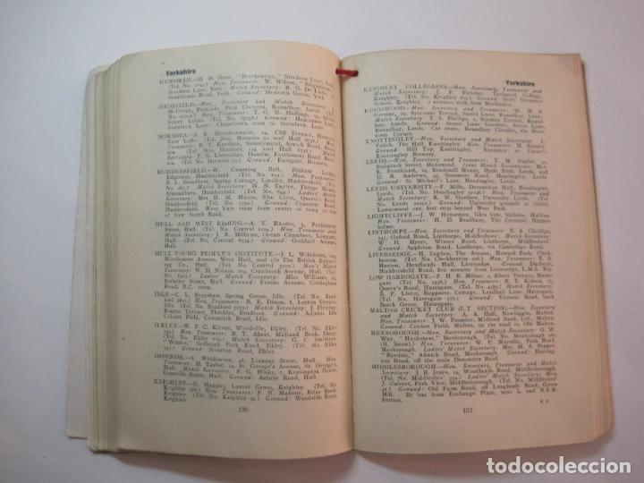 Coleccionismo deportivo: THE LAWN TENNIS ASSOCIATIONS ANNUAL HANDBOOK-LIBRO AÑO 1928-VER FOTOS-(V-22.749) - Foto 27 - 261840630