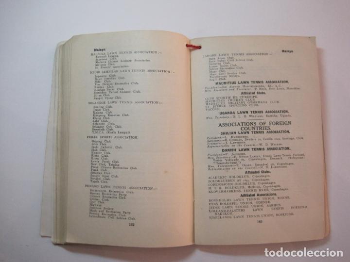 Coleccionismo deportivo: THE LAWN TENNIS ASSOCIATIONS ANNUAL HANDBOOK-LIBRO AÑO 1928-VER FOTOS-(V-22.749) - Foto 28 - 261840630
