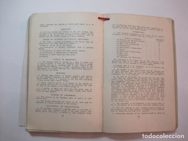 Coleccionismo deportivo: THE LAWN TENNIS ASSOCIATIONS ANNUAL HANDBOOK-LIBRO AÑO 1928-VER FOTOS-(V-22.749) - Foto 30 - 261840630