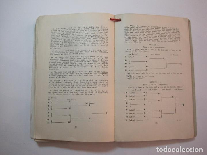 Coleccionismo deportivo: THE LAWN TENNIS ASSOCIATIONS ANNUAL HANDBOOK-LIBRO AÑO 1928-VER FOTOS-(V-22.749) - Foto 31 - 261840630