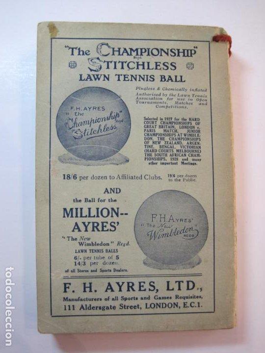 Coleccionismo deportivo: THE LAWN TENNIS ASSOCIATIONS ANNUAL HANDBOOK-LIBRO AÑO 1928-VER FOTOS-(V-22.749) - Foto 35 - 261840630