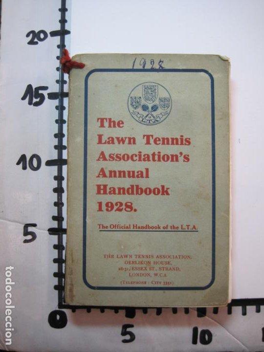 Coleccionismo deportivo: THE LAWN TENNIS ASSOCIATIONS ANNUAL HANDBOOK-LIBRO AÑO 1928-VER FOTOS-(V-22.749) - Foto 36 - 261840630