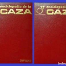 Collectionnisme sportif: ENCICLOPEDIA DE LA CAZA. COMPLETA 2 TOMOS. LOBO. LINCE. GATO MONTES. PERDIZ. JABALI. CEPOS. TRAMPAS.. Lote 262330030