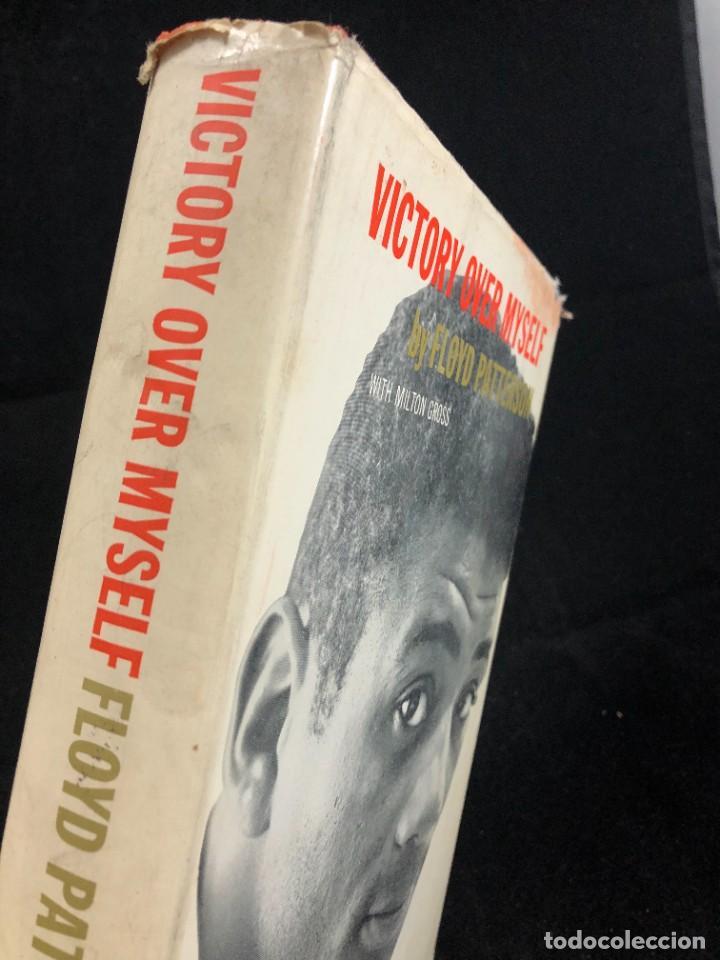 Coleccionismo deportivo: Boxeo: Victory Over Myself. Floyd Patterson, 1961 1ª edición. en inglés. Ilustrado - Foto 2 - 262434495
