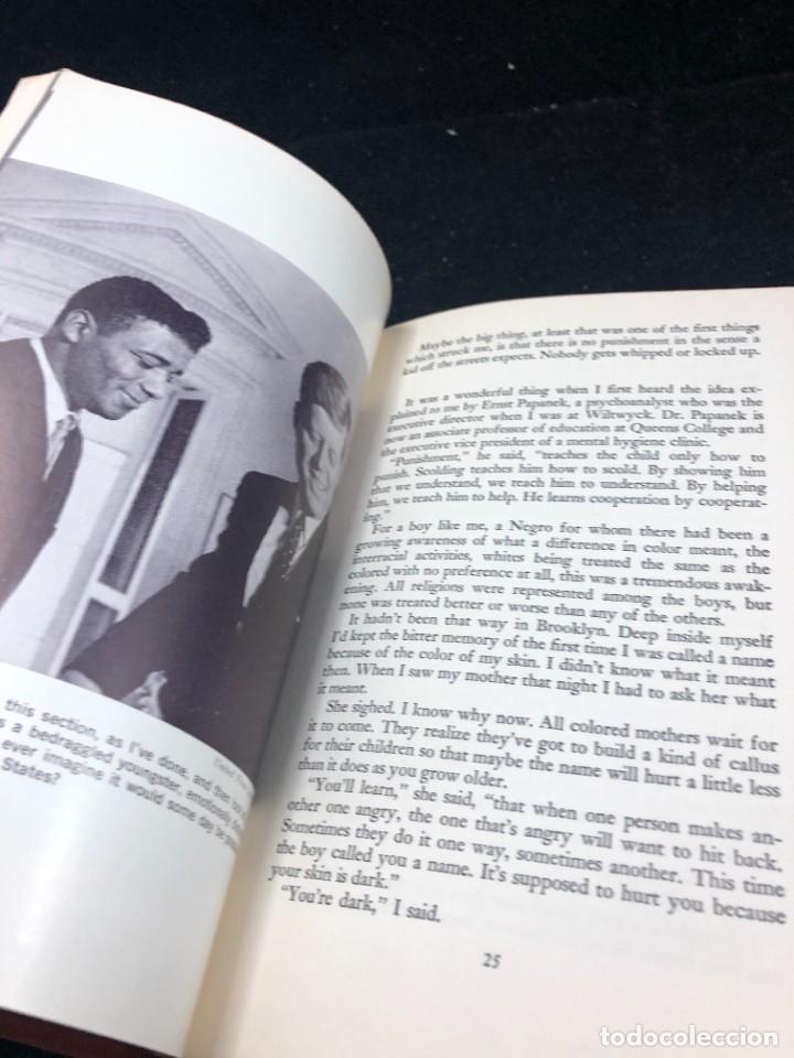 Coleccionismo deportivo: Boxeo: Victory Over Myself. Floyd Patterson, 1961 1ª edición. en inglés. Ilustrado - Foto 8 - 262434495
