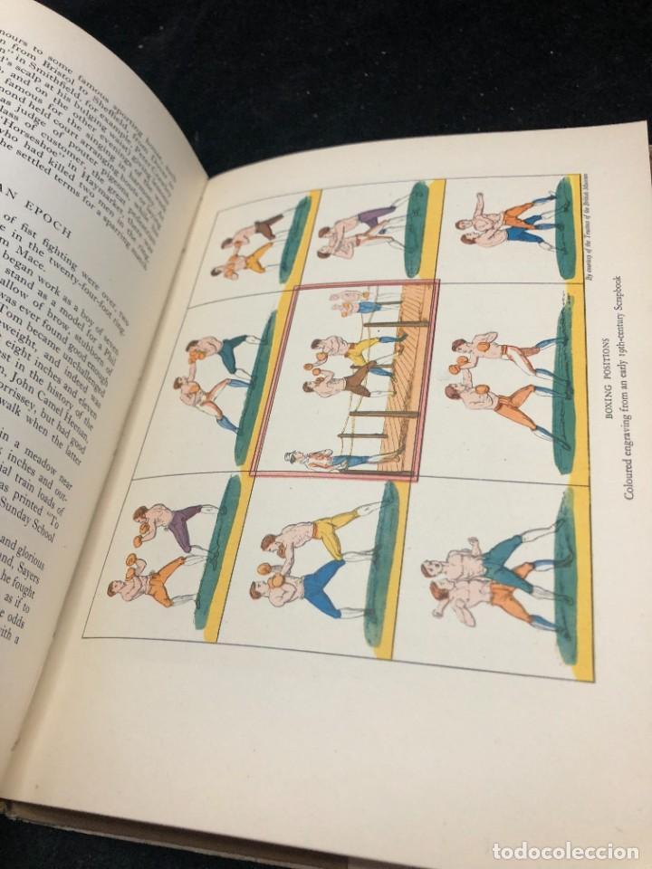 Coleccionismo deportivo: Boxeo: British Boxing: Denzil BATCHELOR. Published by Collins (1948) en inglés. Ilustrado - Foto 5 - 262436190