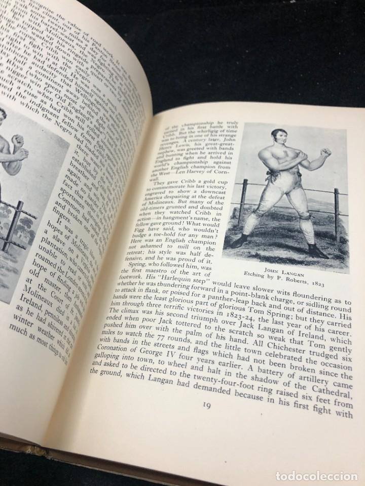 Coleccionismo deportivo: Boxeo: British Boxing: Denzil BATCHELOR. Published by Collins (1948) en inglés. Ilustrado - Foto 6 - 262436190