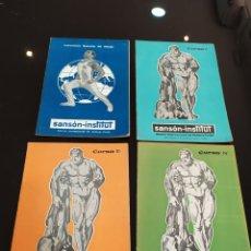 Coleccionismo deportivo: LOTE SANSÓN-INSTITUT: INSTRUCCIONES GENERALES DEL MÉTODO, CURSOS II, III Y IV. Lote 262542775