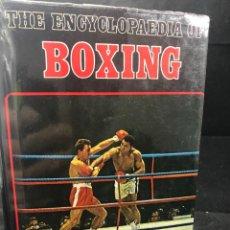 Coleccionismo deportivo: BOXEO: ENCYCLOPAEDIA OF BOXING. MAURICE GOLESWORTHY. 1970. FOURTH EDITION. EN INGLÉS. ILUSTRADA. Lote 262842515