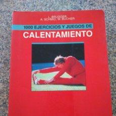 Coleccionismo deportivo: CALENTAMIENTO - 1000 EJERCICIOS Y JUEGOS DE CALENTAMIENTO -- HISPANO EUROPEA 1992 --. Lote 263045355