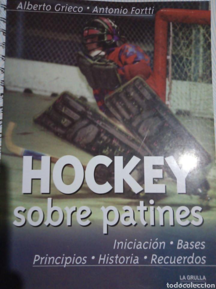 LIBRO HISTORIA DEL HOCKEY SOBRE PATINES DE ARGENTINA (Coleccionismo Deportivo - Libros de Deportes - Otros)