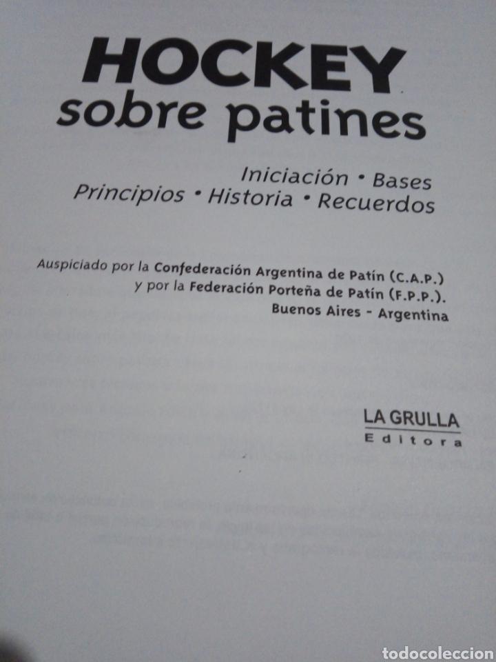 Coleccionismo deportivo: Libro historia del Hockey sobre Patines de Argentina - Foto 2 - 263102180