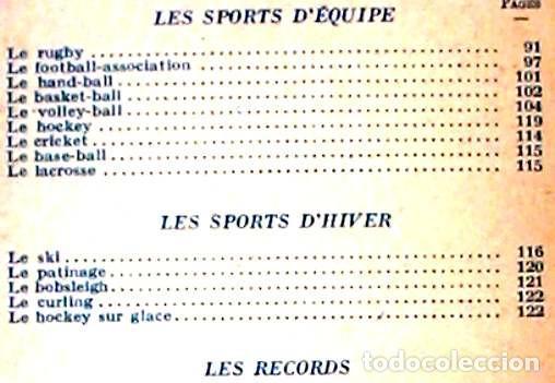 Coleccionismo deportivo: TECHNIQUE DU SPORT - JEAN DAUVEN - PRESSES UNIVERSITAIRES DE FRANCE 1948 - VER INDICE - Foto 3 - 263108590