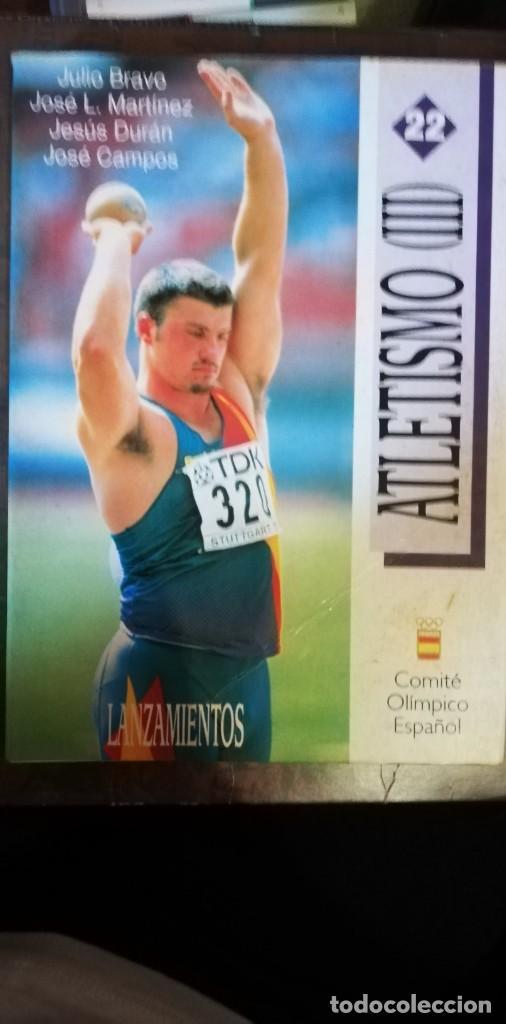 ATLETISMO III LANZAMIENTOS. (Coleccionismo Deportivo - Libros de Deportes - Otros)