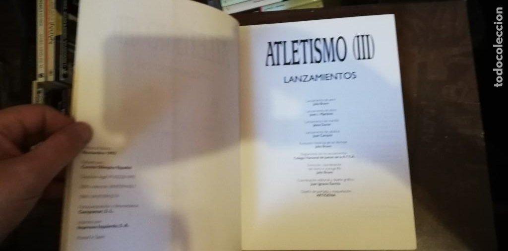 Coleccionismo deportivo: ATLETISMO III LANZAMIENTOS. - Foto 2 - 263136550
