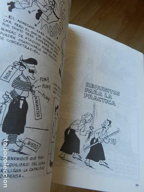 Coleccionismo deportivo: APUNTES DE AIKIDO J.S. NADAL ALBIAC Shodan Editorial Alas año 1994 - Foto 6 - 263190595