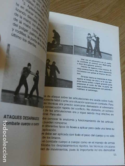 Coleccionismo deportivo: NINJA historias y técnicas de los guerrilleros feudales Juan A LOPEZ CRESPO Editorial Alas año 1986 - Foto 5 - 263191065