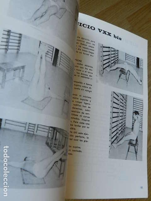 Coleccionismo deportivo: CURSO COMPLETO ISOMÉTRICO SIN PESAS Salud ejercicio 12 sencillas lecciones Peytibi Alas año 1981 - Foto 5 - 263193025