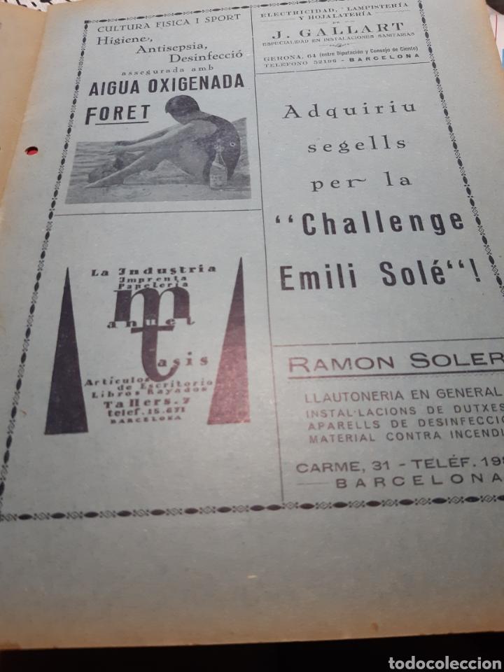 Coleccionismo deportivo: Llibre del Club Natació Barcelona - Foto 2 - 263203290