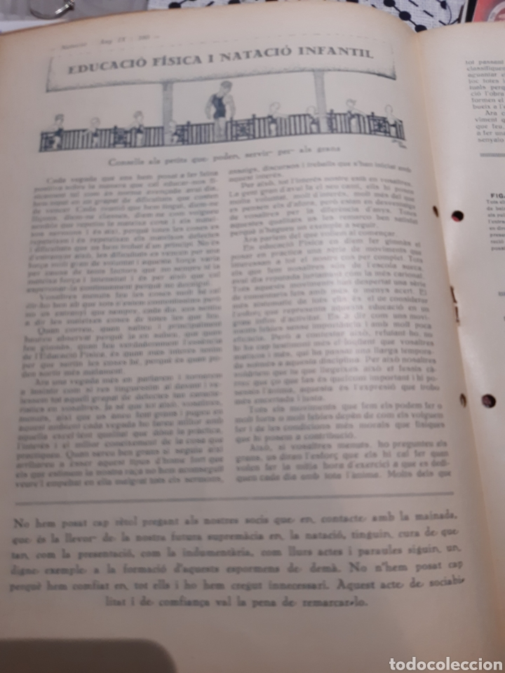 Coleccionismo deportivo: Llibre del Club Natació Barcelona - Foto 4 - 263203290