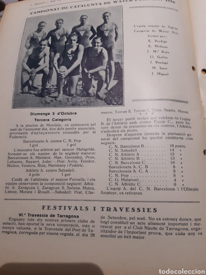 Coleccionismo deportivo: Llibre del Club Natació Barcelona - Foto 5 - 263203290