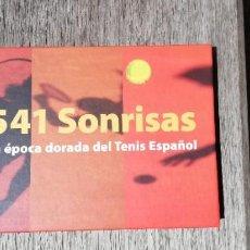 Coleccionismo deportivo: 541 SONRISAS. LA EPOCA DORADA DEL TENIS ESPAÑOL ILUSTRADO 200 PAGINAS. Lote 265185824