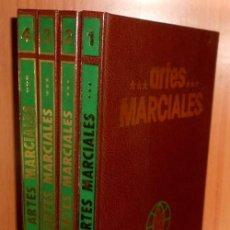 Coleccionismo deportivo: ARTES MARCIALES. COMPLETA 4 TOMOS. KARATE. JUDO. AIKIDO. FULL CONTACT. KUNG FU. KENDO.. Lote 266832849
