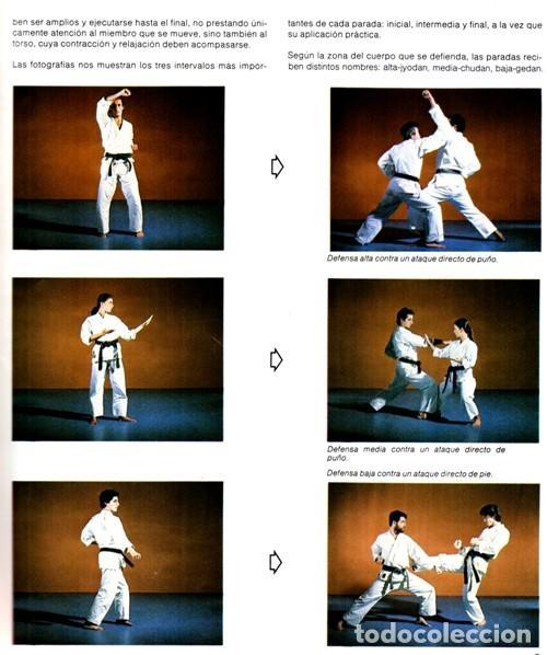 Coleccionismo deportivo: ARTES MARCIALES. COMPLETA 4 TOMOS. KARATE. JUDO. AIKIDO. FULL CONTACT. KUNG FU. KENDO. - Foto 5 - 266832849