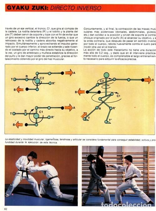 Coleccionismo deportivo: ARTES MARCIALES. COMPLETA 4 TOMOS. KARATE. JUDO. AIKIDO. FULL CONTACT. KUNG FU. KENDO. - Foto 7 - 266832849