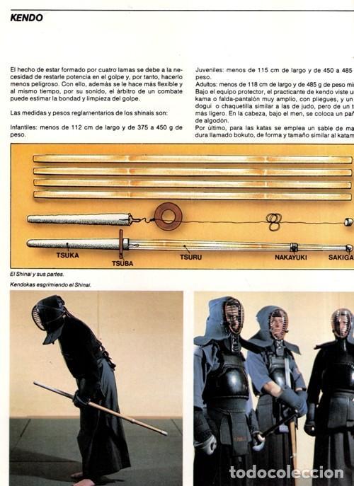 Coleccionismo deportivo: ARTES MARCIALES. COMPLETA 4 TOMOS. KARATE. JUDO. AIKIDO. FULL CONTACT. KUNG FU. KENDO. - Foto 8 - 266832849
