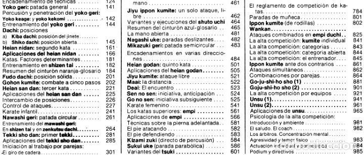 Coleccionismo deportivo: ARTES MARCIALES. COMPLETA 4 TOMOS. KARATE. JUDO. AIKIDO. FULL CONTACT. KUNG FU. KENDO. - Foto 18 - 266832849