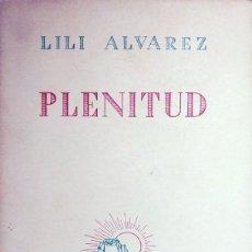 Coleccionismo deportivo: PLENITUD : ESTUDIO PEELIMINAR … SOBRE EL DEPORTE DE JEAN GIRAUDOUX / LILÍ ÁLVAREZ. EPESA, 1946.. Lote 267241339