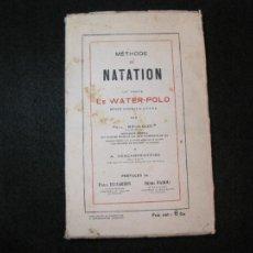 Coleccionismo deportivo: METHODE DE NATATION-LE WATERPOLO-LIBRO ANTIGUO-VER FOTOS-(K-3256). Lote 268769284