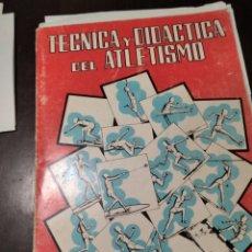 Coleccionismo deportivo: TÉCNICA Y DIDÁCTICA DEL ATLETISMO. Lote 268906574