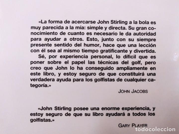 Coleccionismo deportivo: EL GOLF Y SU PRACTICA / JOHN STIRLING / 1988. HISPANO EUROPEA - Foto 5 - 269349288