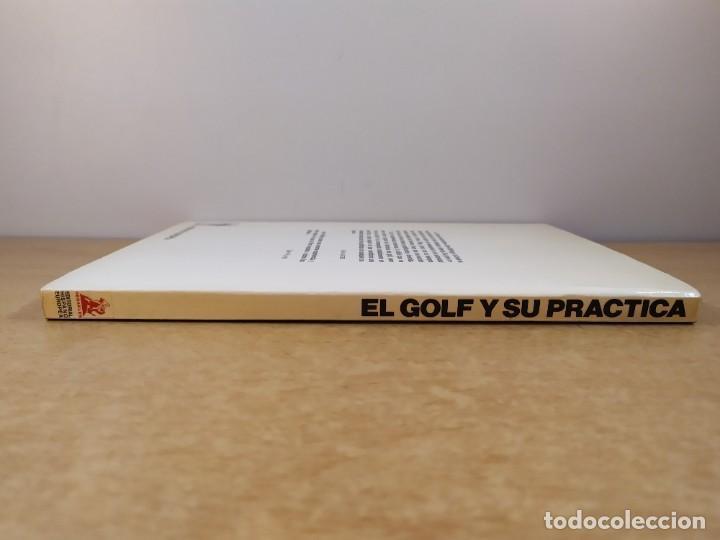 Coleccionismo deportivo: EL GOLF Y SU PRACTICA / JOHN STIRLING / 1988. HISPANO EUROPEA - Foto 6 - 269349288