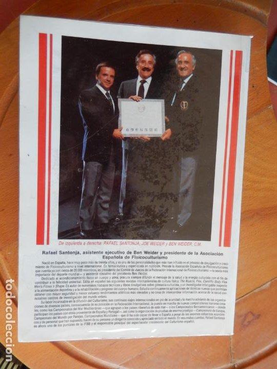 Coleccionismo deportivo: ENCICLOPEDIA DE EJERCICIOS CULTURISTAS - R. SANTONJA GÓMEZ - 1989. - Foto 2 - 269456838
