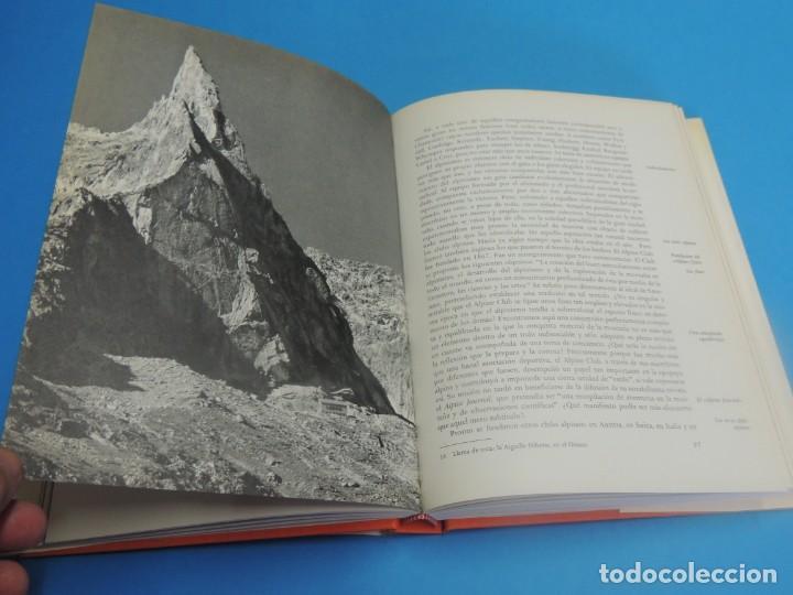 Coleccionismo deportivo: LA MONTAÑA Y EL HOMBRE.- GEORGES SONNIER - Foto 8 - 270669583
