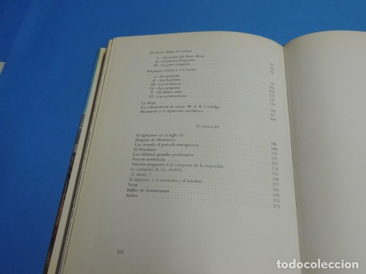 Coleccionismo deportivo: LA MONTAÑA Y EL HOMBRE.- GEORGES SONNIER - Foto 13 - 270669583