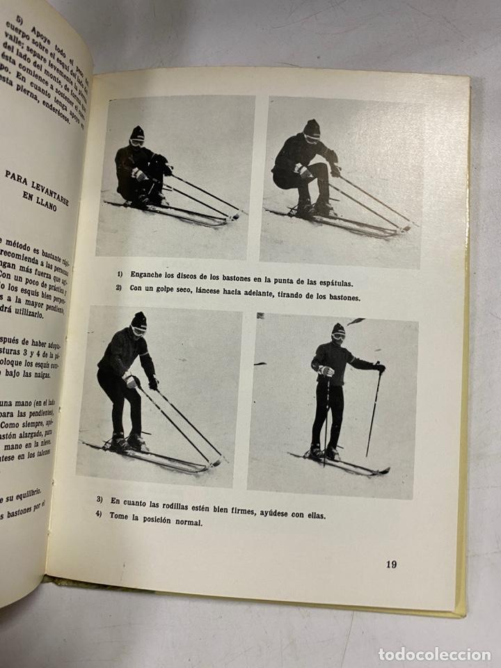 Coleccionismo deportivo: EL ESQUÍ. APRÉNDALO POR SÍ MISMO. PIERRE AUGISTE. ESPASA-CALPE. MADRID, 1976. PAGS: 64 - Foto 4 - 270674618