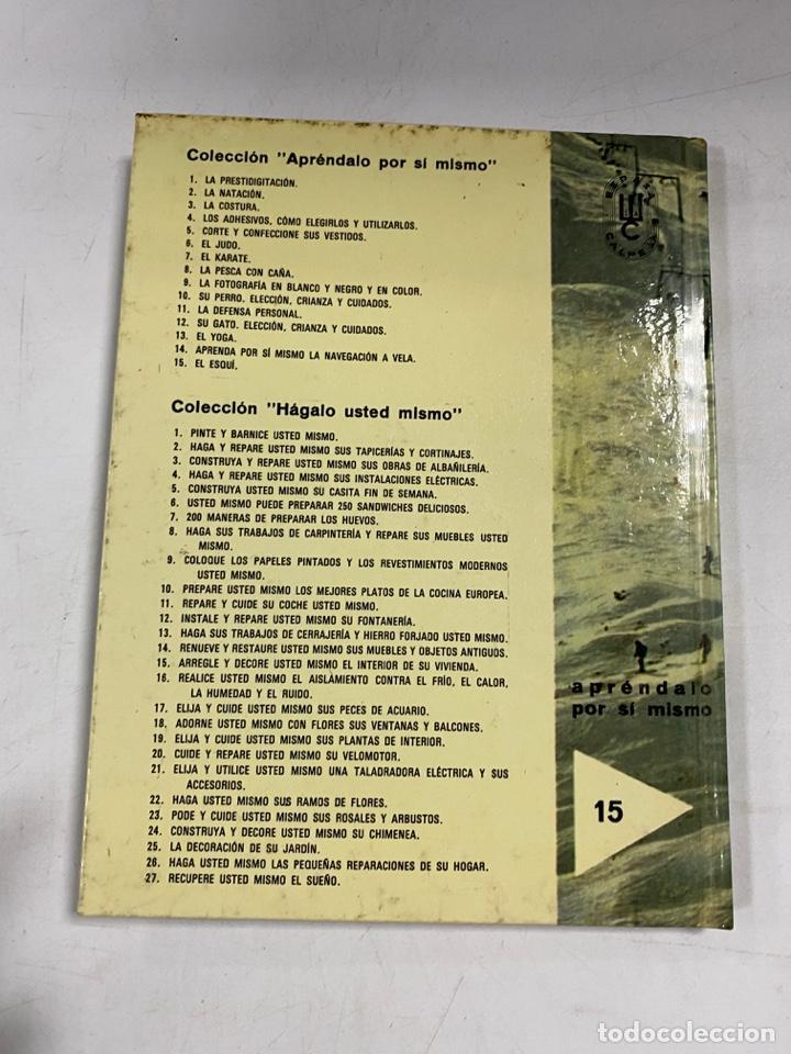 Coleccionismo deportivo: EL ESQUÍ. APRÉNDALO POR SÍ MISMO. PIERRE AUGISTE. ESPASA-CALPE. MADRID, 1976. PAGS: 64 - Foto 5 - 270674618