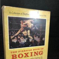 Coleccionismo deportivo: THE FIRESIDE BOOK OF BOXING 1ST EDITION W.C. HEINZ 1961 HC DJ W.C. HEINZ, EN INGLÉS.. Lote 270873603