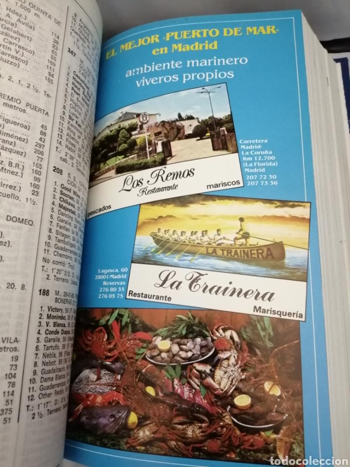 Coleccionismo deportivo: RECTA FINAL. REVISTA HÍPICA: TOMO CON 17 NÚMEROS: DE 369 (1/09/1987) A 385 (29/12/1987) - Foto 6 - 270679423