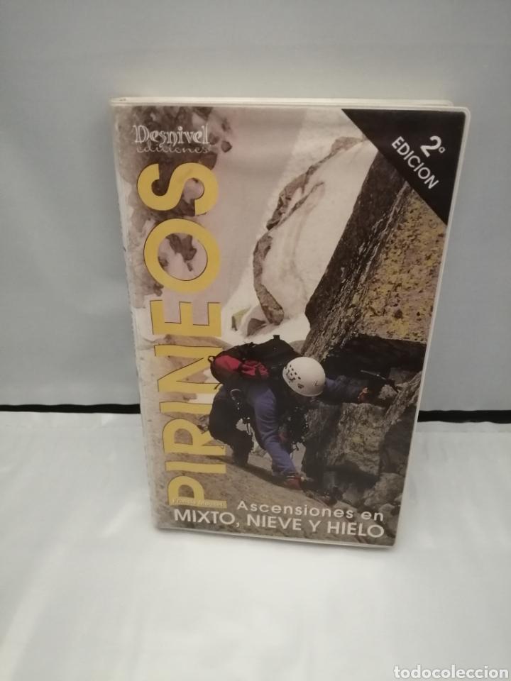 PIRINEOS. ASCENSIONES EN MIXTO, NIEVE Y HIELO (Coleccionismo Deportivo - Libros de Deportes - Otros)