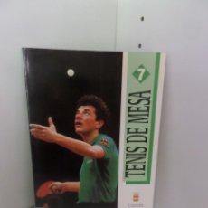 Coleccionismo deportivo: TENIS DE MESA COMITE OLIMPICO ESPAÑOL / FEDERACION ESPAÑOLA DE TENIS DE MESA DISPONGO DE MAS LIBROS. Lote 272360983