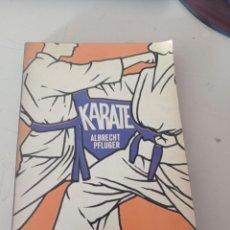 Coleccionismo deportivo: KARATE - ALBRECHT PFLUGER REF, UR CAJA 5. Lote 274550648