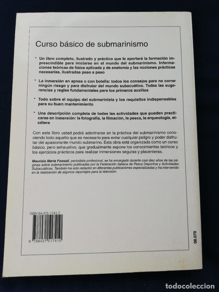 Coleccionismo deportivo: Curso básico de submarinismo en apnea - con botellas - maurizio maria fossati - Foto 2 - 276494873
