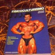 Coleccionismo deportivo: CLEMENTE HERNÁNDEZ. FISICOCULTURISMO.1991. Lote 277070828